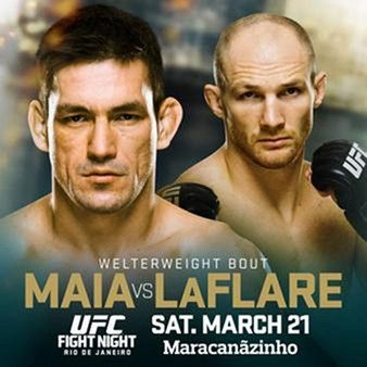 UFC Fight Night 62: Maia vs. LaFlare Fightcard