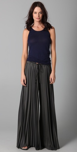 Enza Costa - Pleated Palazzo Pant