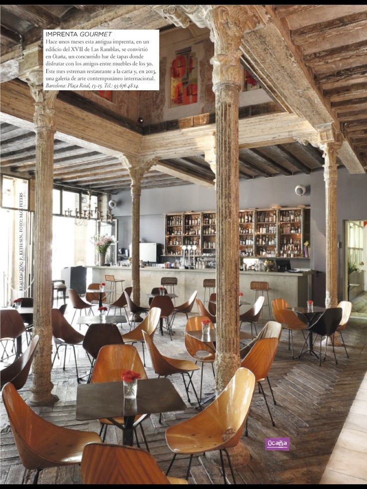 maybe a cool linoleum tile here and the fancy barcelona cafebarcelona spaincommercial interior designcommercial