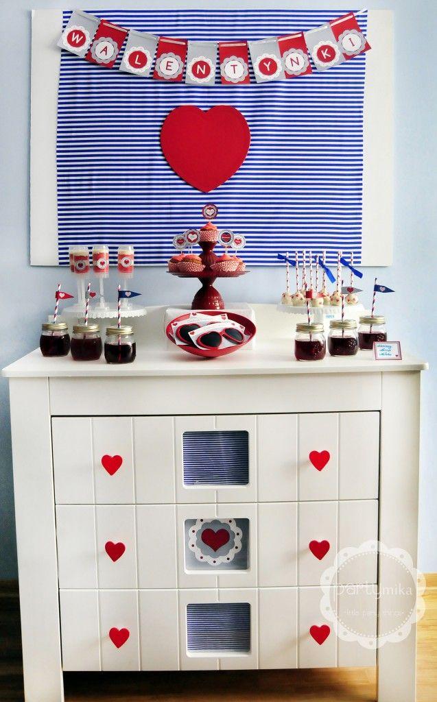 Przyjęcie walentynkowe, Valentine's Day Party