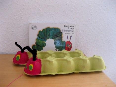 Bixi-and-Goxi: Ein Nachmittag mit der kleinen Raupe (German, but you can find similar crafts in English)