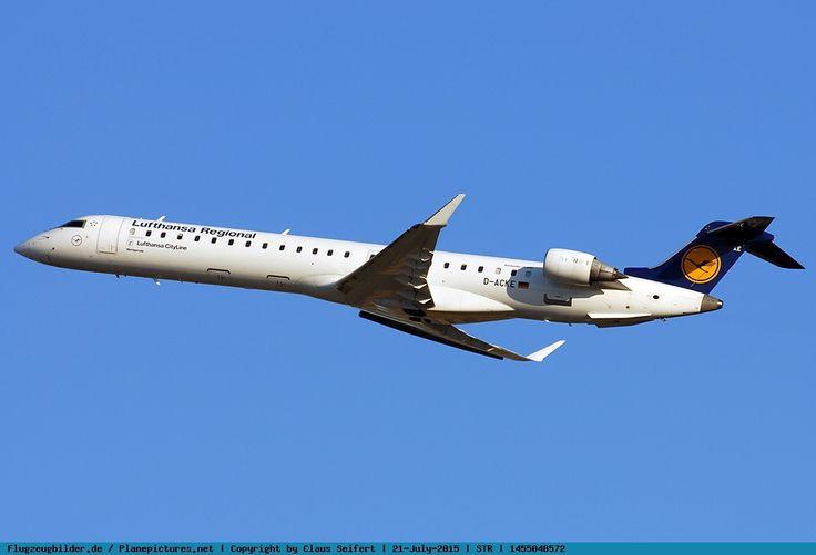 Foto Lufthansa Regional (CityLine) Canadair Regional Jet CRJ-900ER D-ACKE