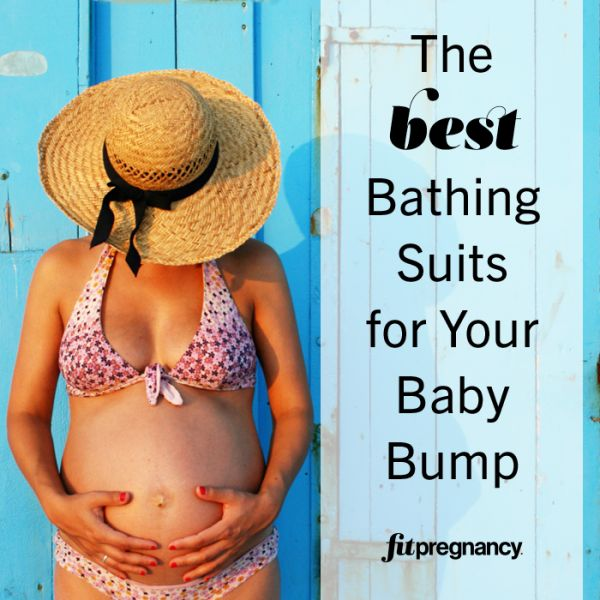 Floral Bathing Suits - Maternity Bathing Suits That Flatter Your Baby Bump - Fit Pregnancy