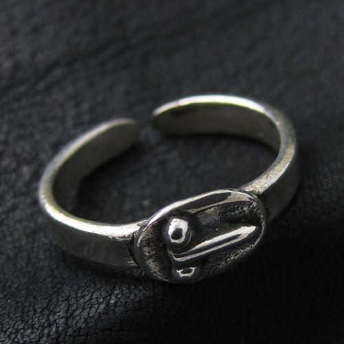 Silver phallic ring from Ancient Rome. Reenactment. Phallic Symbol. Penis. SCA.
