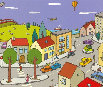 Peuters in het verkeer : Ons peuterklasje