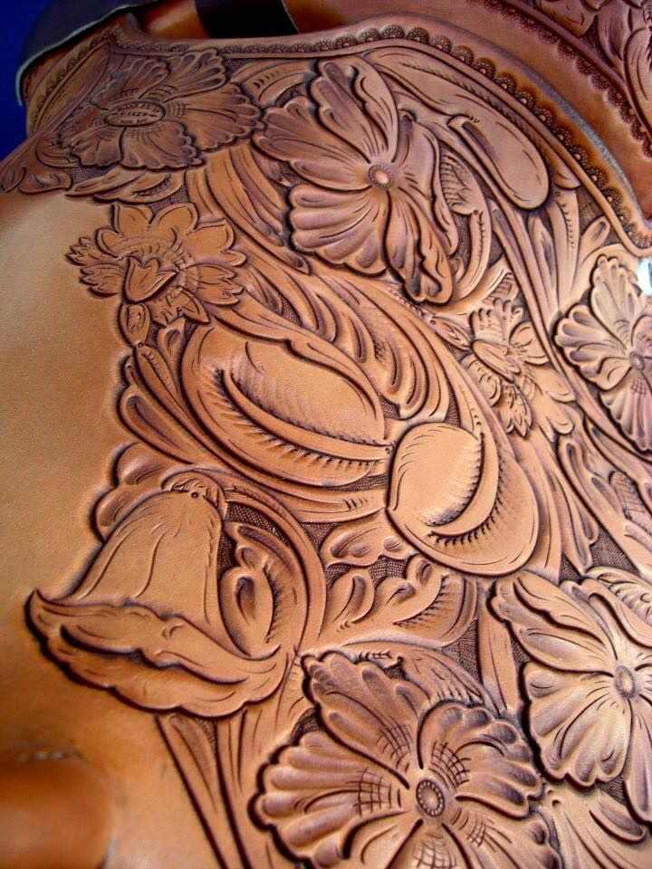 Best images about leather carving patterns on pinterest