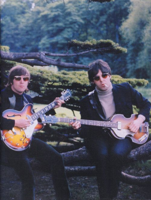 The Beatles: John Lennon and Paul McCartney