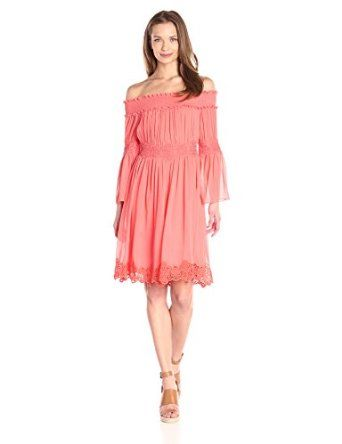 Adrianna Papell Women's Crinkle Chiffon Dress