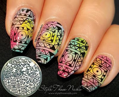 Style Those Nails: Born Pretty Store Stamping Plate BP-79: Review