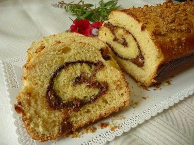 Le    ricette    di    Claudia  &   Andre : Pan brioche arrotolato alla nutella