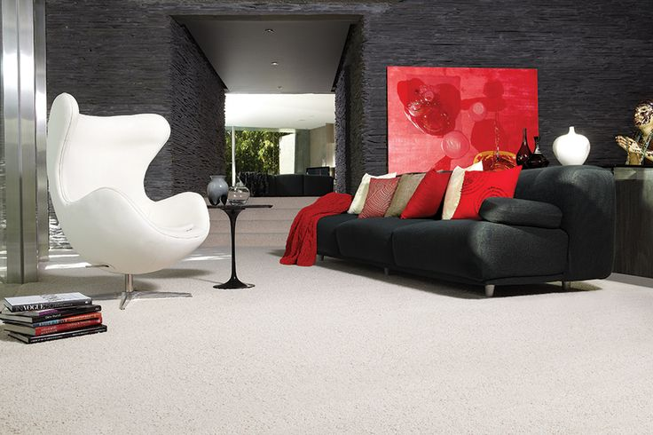 Feltex carpet | Get the look with Feltex Reserve in Cranleigh Angora #feltexcarpets #carpet #interiordesign #homedecor #modernhome