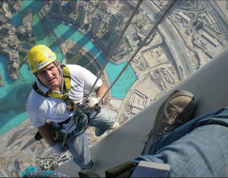 Before you kick the bucket climb the tallest skyscrapre in the world!