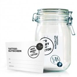 TattooMed® Tattoo Spardose big + gutschein
