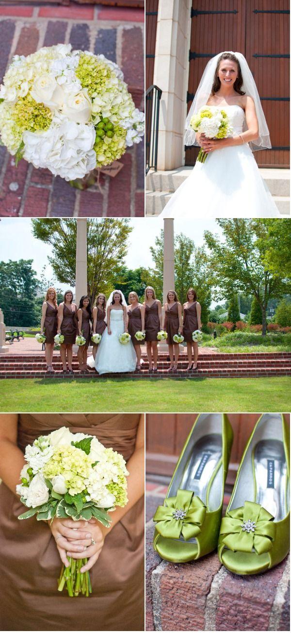 beige and brown wedding - photo #21