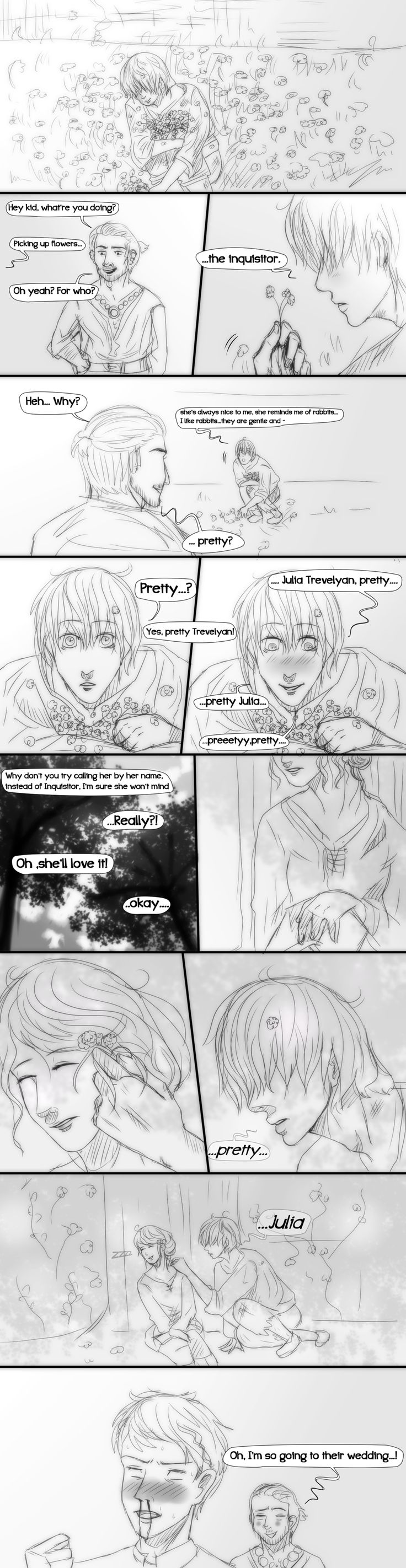 Dragon Age Inquisition- Comic- Pretty by MsArtisticStuff.deviantart.com on @DeviantArt