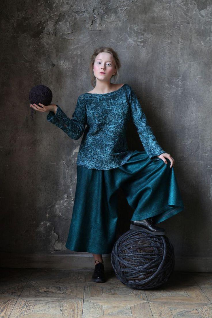 Алена Селезнева. Коллекция «Сонная лощина» | Школа Войлока Онлайн