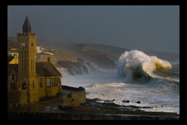 10 year Storm at Porthleven, Cornwall