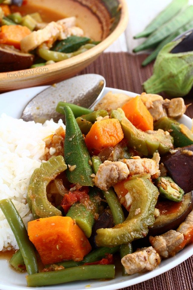 Try this easy recipe for Pinakbet or Pakbet, a Filipino vegetable dish that is…