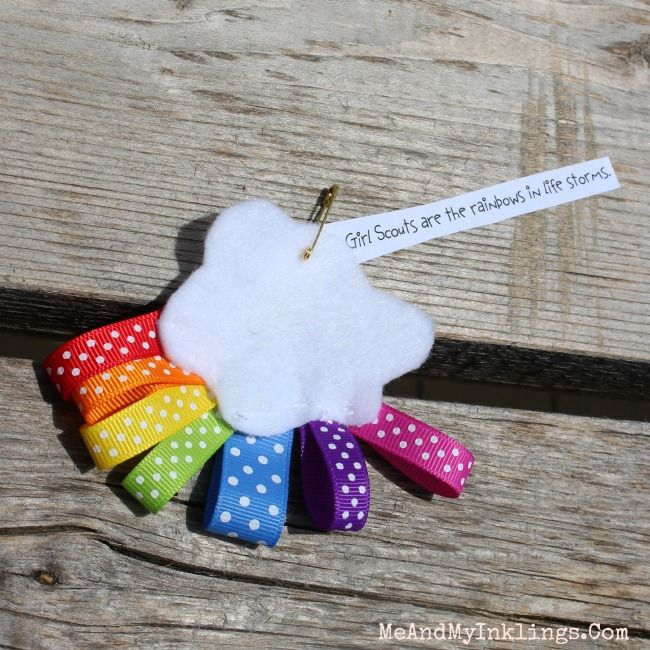 SWAP Girl Scouts Rainbow Ribbon