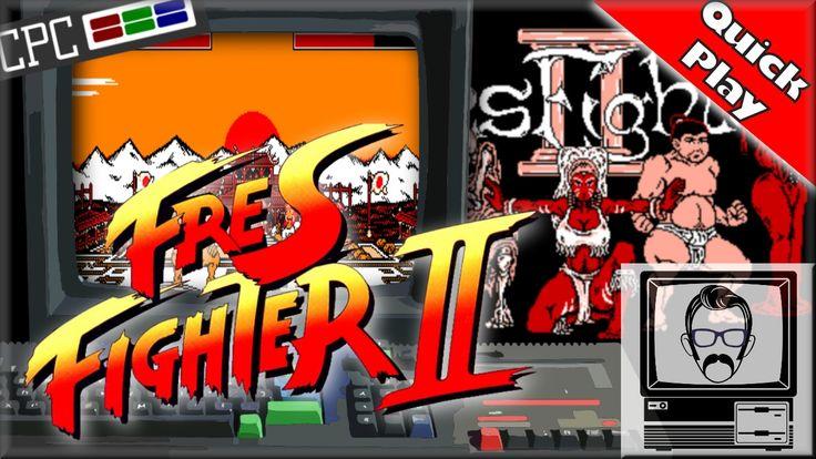 Fres Fighter II TURBO - Amstrad CPC [Quick Play]   Nostalgia Nerd