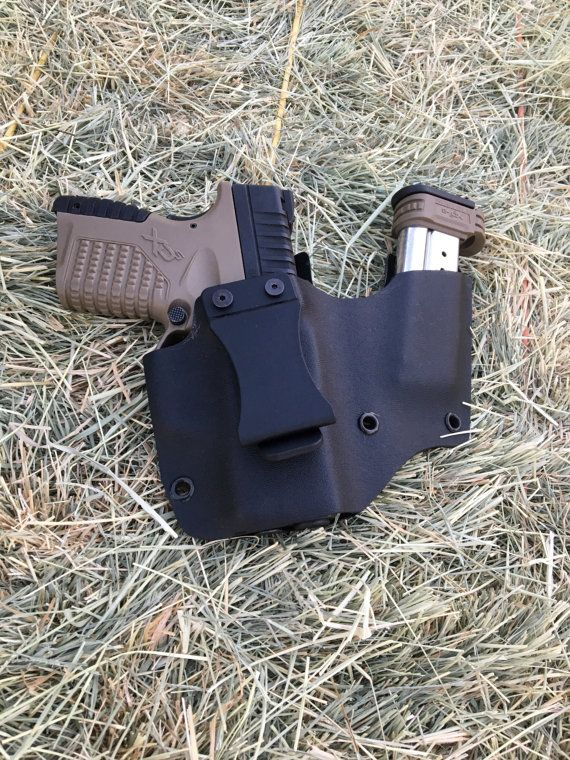XDs 9mm IWB  Mag Kydex Holster