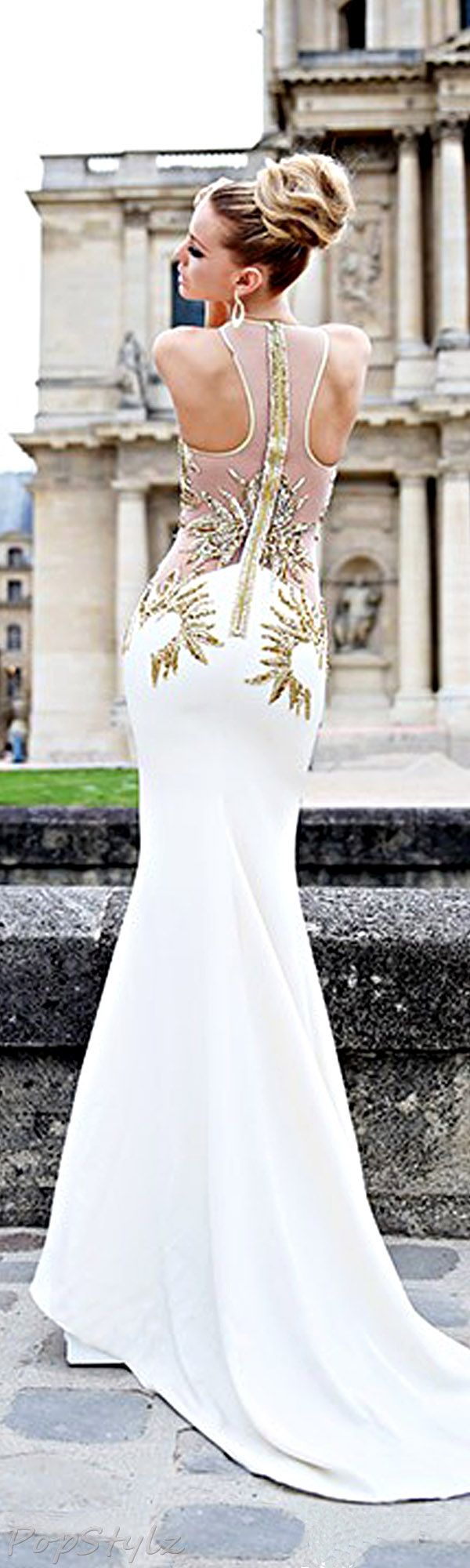 Tarik Ediz 92261 Evening 2014 Gown
