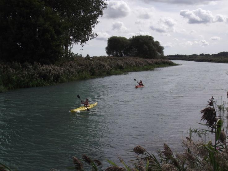 Kayaking in Chatham Kent Ontario - Wallaceburg Trails