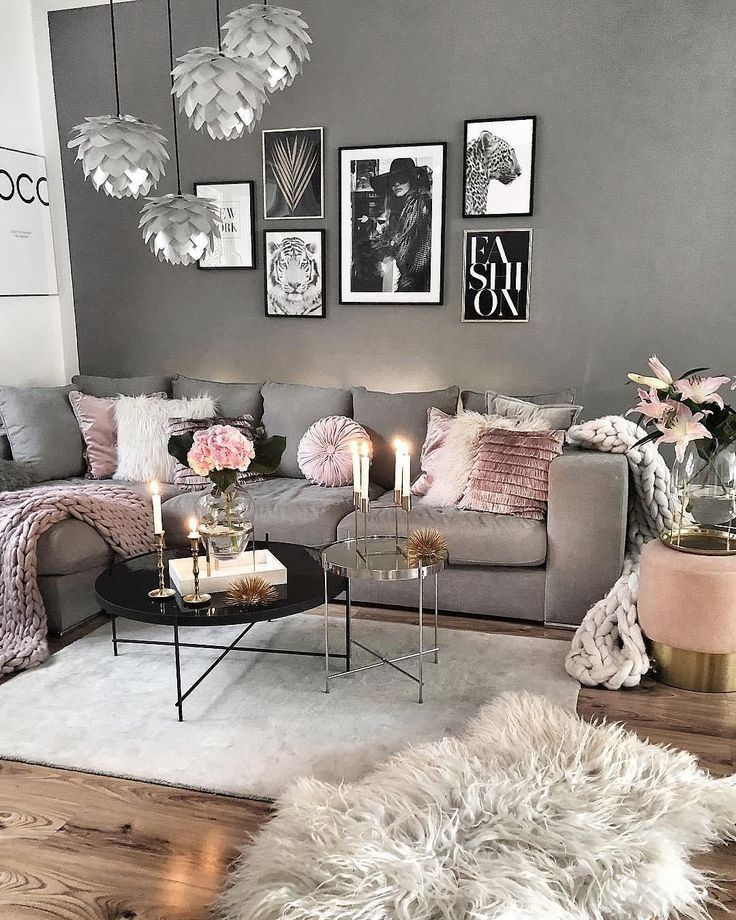 Lernen Sie Wie Sie Ihr Wohnzimmer Mit Diesen Diesen Lernen Wohnzimmer Living Room Decor Cozy Pink Living Room Luxury Room Decor