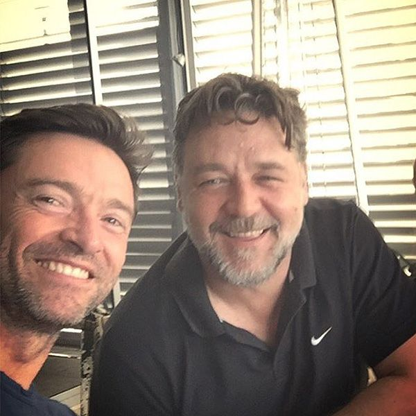 Jean Valjean & Javert's 'Mean BBQ'! Hugh Jackman Hangs Out with Les Misérables Pal Russell Crowe, Posts Instagram Photo