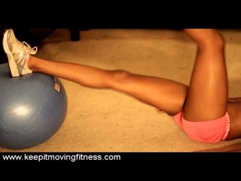 Stability Ball Workouts & Exercises