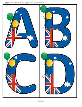 This is a set of printables about Australia for young learners. Perfect for an introduction to Australia for children in the US and Canada, and to celebrate Australia Day (Jan. 26th) for preschoolers and Pre-K in Australia. 52 pages