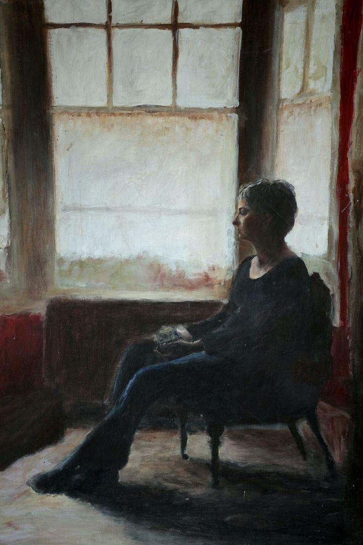 Sophies Mum - acrylic painting.