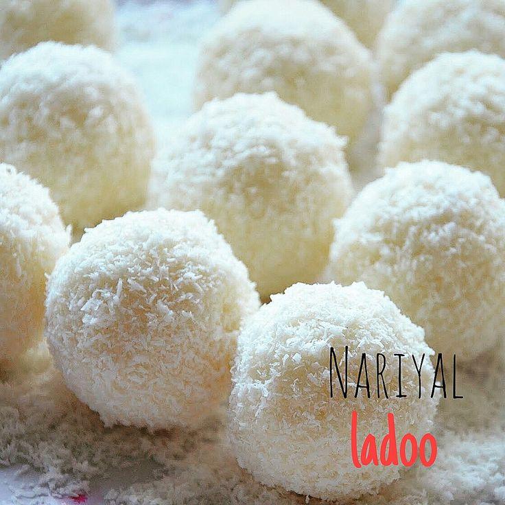Nariyal+ladoo+-+palline+fresche+cocco+e+cardamomo+-+ricetta+indiana