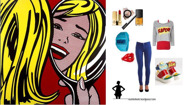 Roy Lichtenstein, Ragazza allo specchio http://vestitidarte.wordpress.com/2013/01/29/ragazza-allo-specchio/