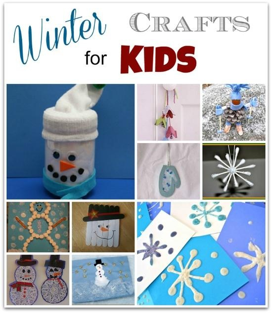 1000 images about kid 39 s winter crafts on pinterest for Winter holiday crafts for kids