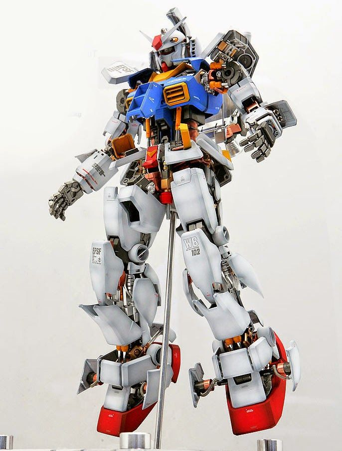 GUNDAM GUY: PG 1/60 RX-78-2 Gundam 'Open Hatch' - Customized Build