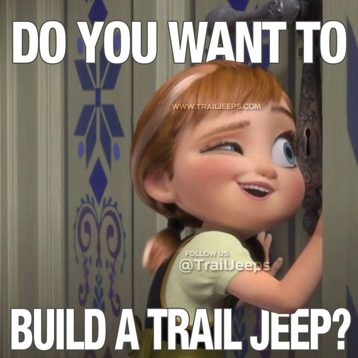 Do you want to build a trail jeep?
