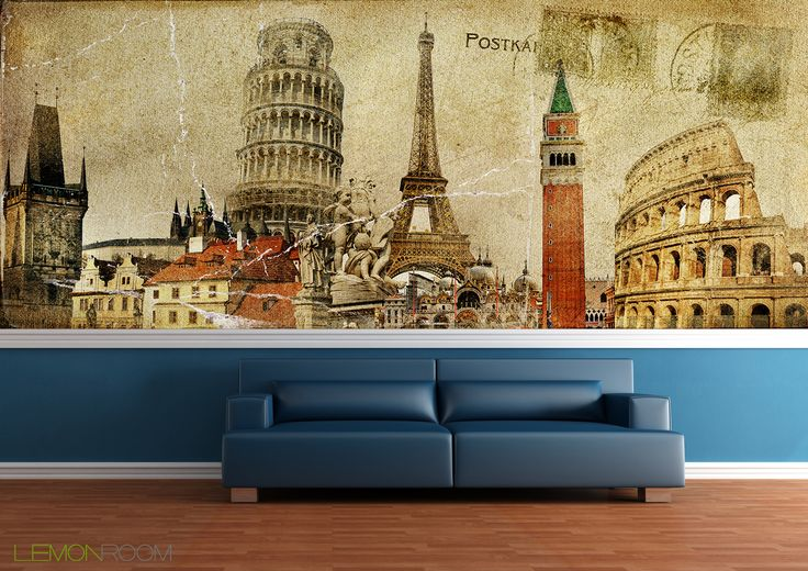 #Fototapeta Europa  >> http://lemonroom.pl/fototapeta-0-wyniki-wyszukiwania-26941540-vintage-postal-card-ruropean-holidays.html