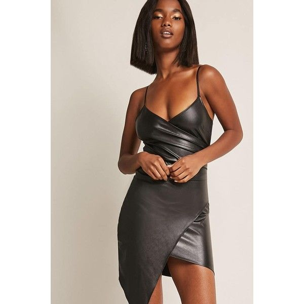 Forever21 Coated Metallic Tulip Dress ($35) ❤ liked on Polyvore featuring dresses, black, forever 21 cocktail dresses, short bodycon dresses, metallic cocktail dress, bodycon cocktail dresses and asymmetrical bodycon dress
