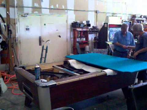 Pool Table Recover -How to