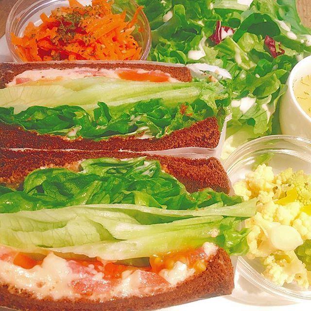 【_yukatam__】さんのInstagramをピンしています。 《. あみたんに広尾案内してもらった💓 #lesgrandsarbres #広尾  #マジックツリーハウス #森 #sandwich #あみたん》