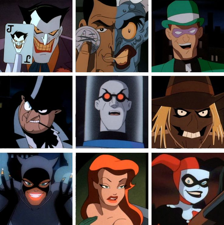 """The Batman I grew up with. This cartoon and the Tim Burton movies will always be """"the real Batman"""" to me. Well, along with the Adam West reruns I watched."""