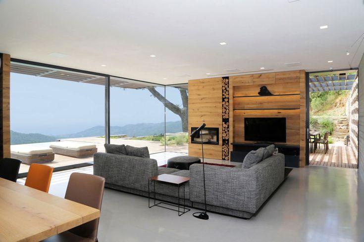 Villa N, una costruzione che si fonde con il paesaggio #hogarhabitissimo #industrial