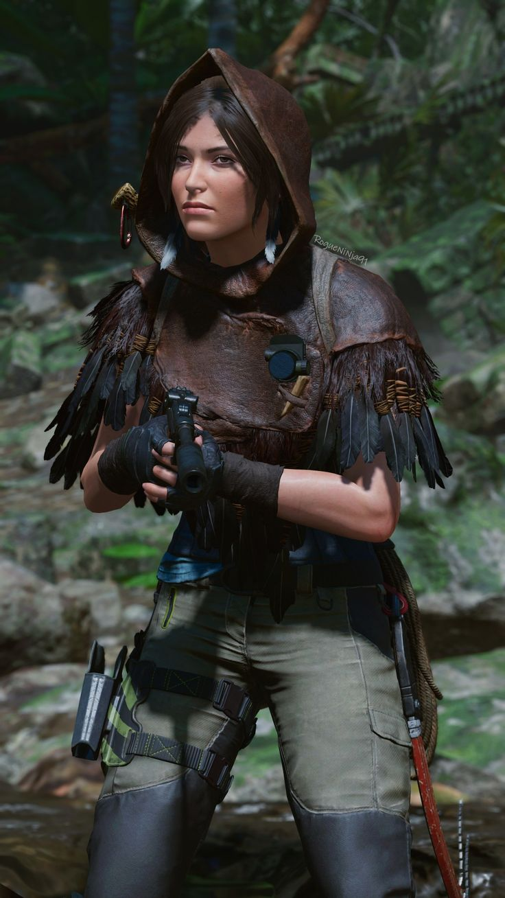 Lara Croft SOTTR in 2021   Tomb raider lara croft, Warrior