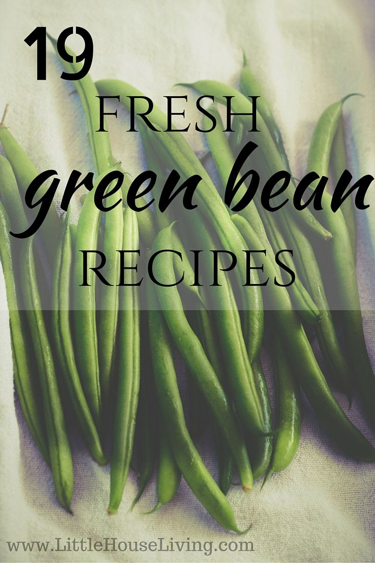 19 delicious fresh green bean recipes that you need to try this summer!
