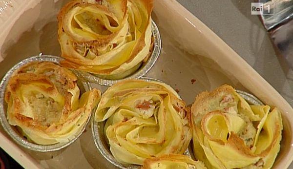 rosetta di crespella ricette la prova del cuoco