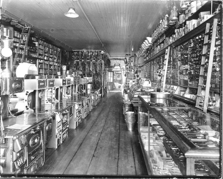 I love old general stores.//looks like a hardware store...