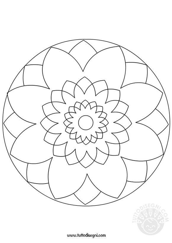 Risultati Immagini Per Mandala Semplici Disegni Disegnosi