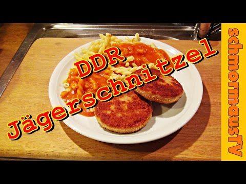 DDR-Jägerschnitzel mit Nudeln & Tomatensoße - YouTube - das war als Kind mein absolutes Lieblingsgericht