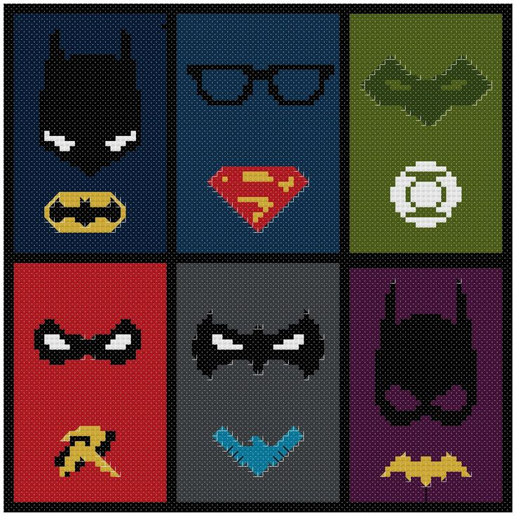 BOGO FREE! dc comic superheroes stitch pattern /Batman cross stitch/superman cross stitch / superhero pattern/batman pattern #04-004 CROSS STITCH PATTERN (Beginner Level / Easy LEVEL) (Patterns are in both Single page and multi-page enlarged format for easy reading) This PDF counted cross stitch pattern available for instant download after buying. If you are looking for an embroidery project that adds a touch of sympathy to dc comic superheroes cross stitch pattern...